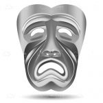 Tragedy Theatre Mask